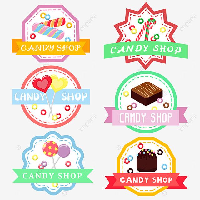 purple lollipop cartoon candy shop