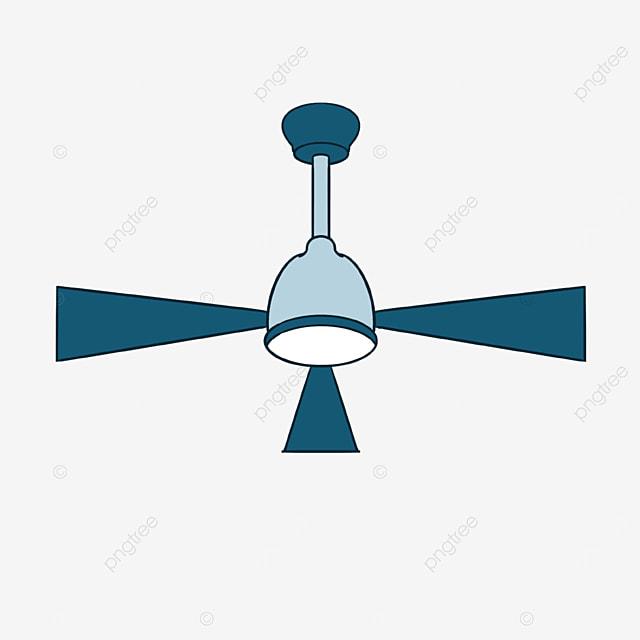 fan clip art three page ceiling fan light