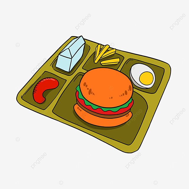 lunch clipart cartoon lunch hamburger