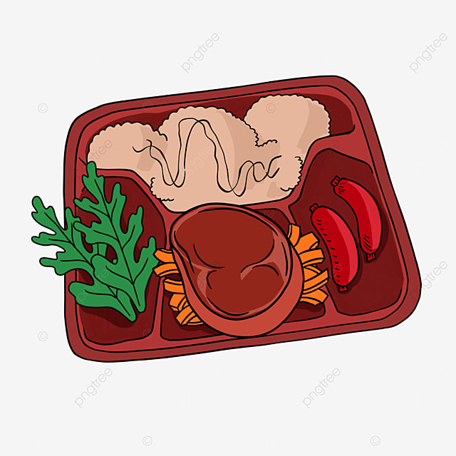 lunch clipart cartoon luncheon meat