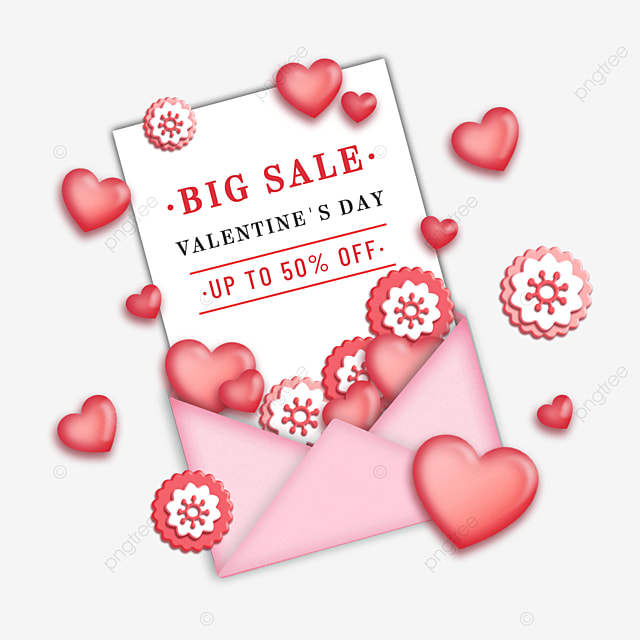 pink valentines day promotion holiday