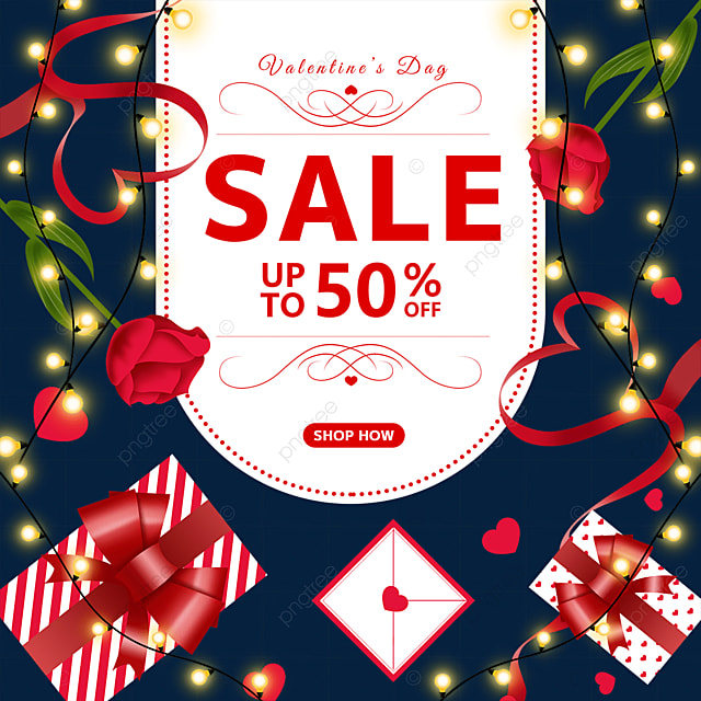 rose flower bulb gift box envelope valentines day promotion label