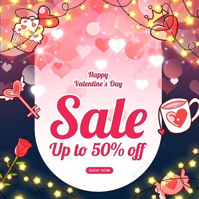 valentines day light rose flower cup key love promotion label