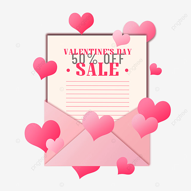 valentines day pink promotion