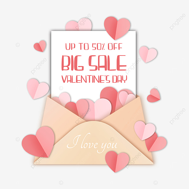 valentines day promotion love offer