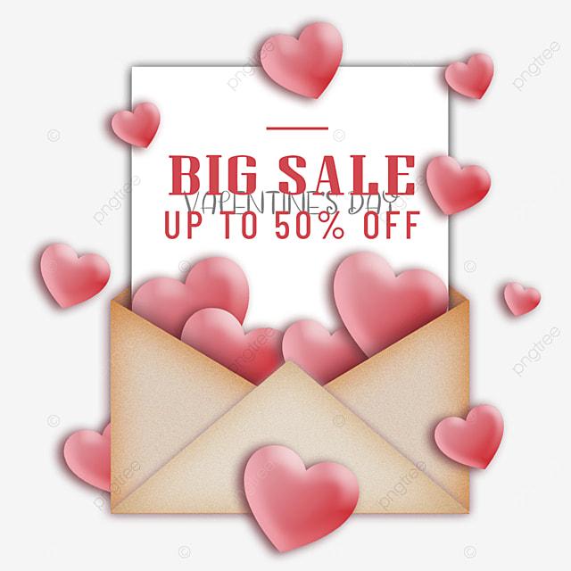 valentines day promotional envelope romance