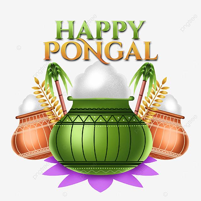 asset illustration for pongal celebration