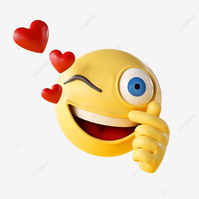 blink an emoji emoji