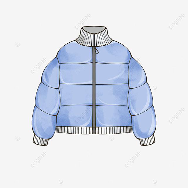 blue jacket clip art