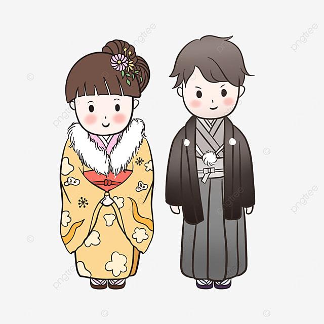 cartoon japanese adult dress ornament