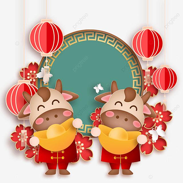 chinese new year happy new year cartoon image