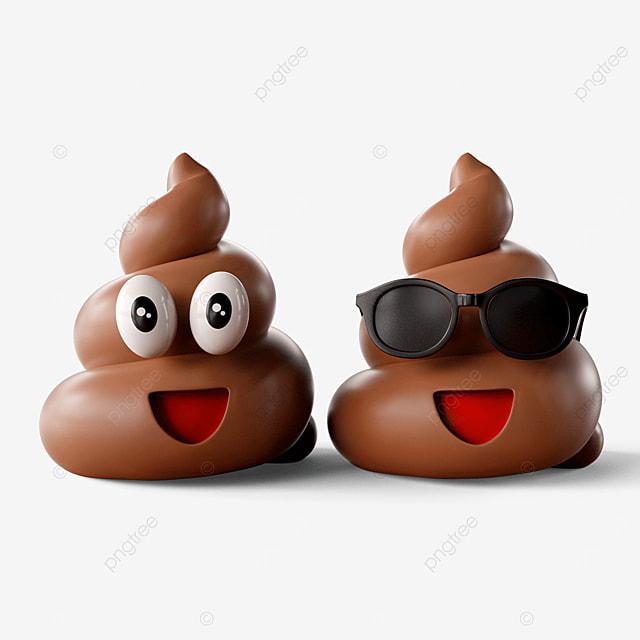 cute poop emoji