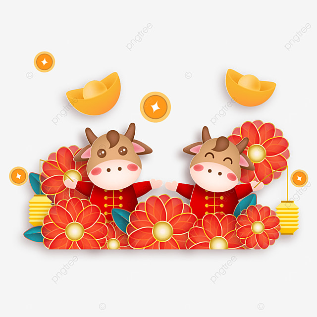 happy new year floral spring festival
