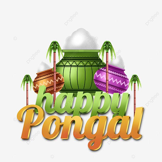 happy pongal transparent element