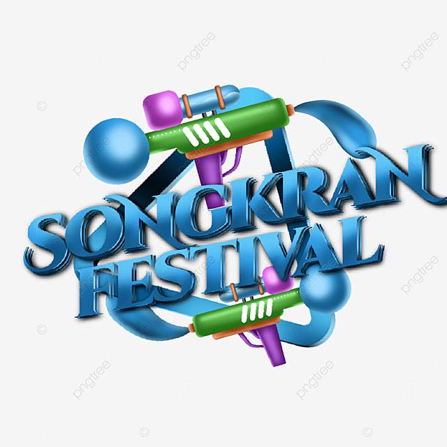 image illustration for the thai songkran festival