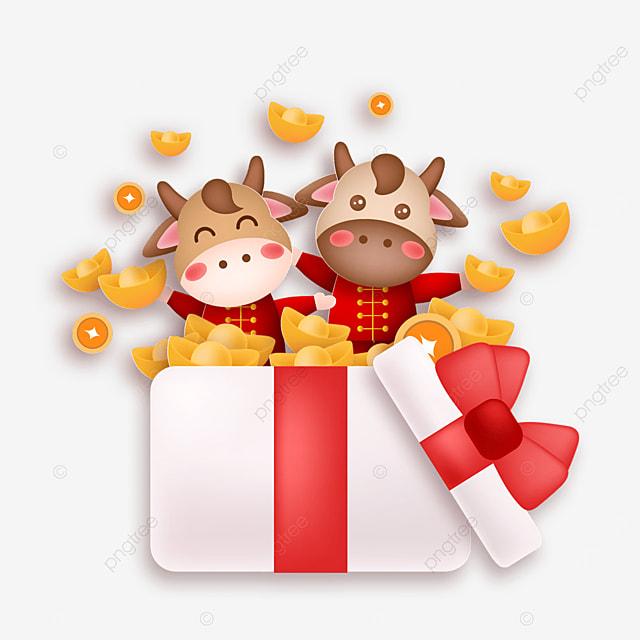new year gift box