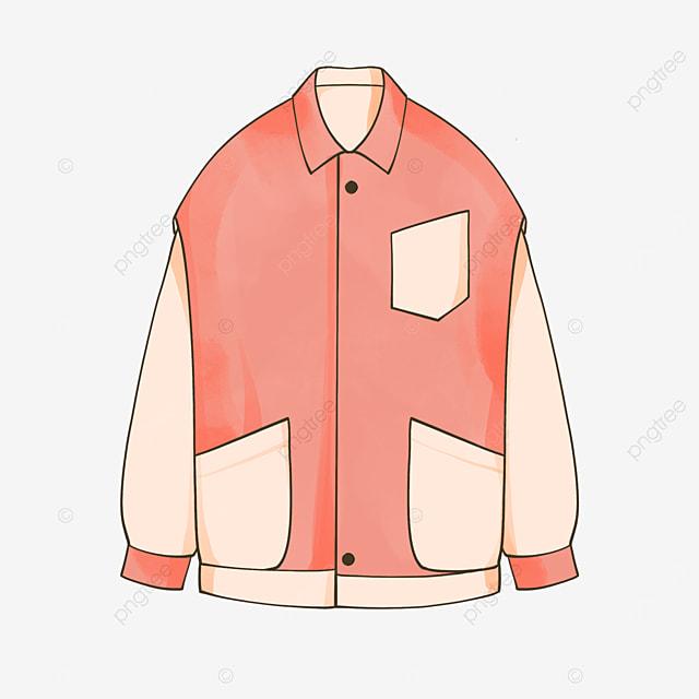 pink jacket clip art