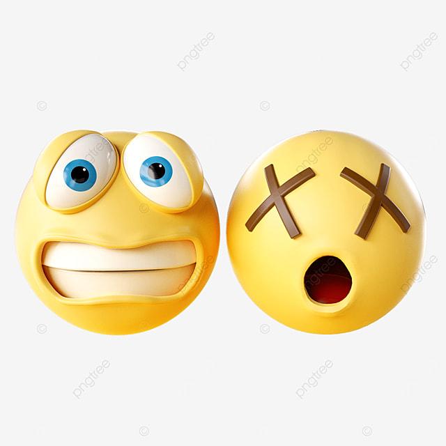 sad three dimensional emoji