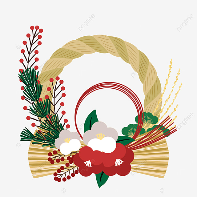 simple japanese traditional decoration note