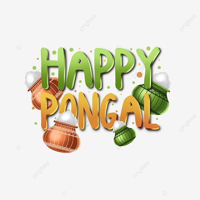 unique happy pongal decoration assets