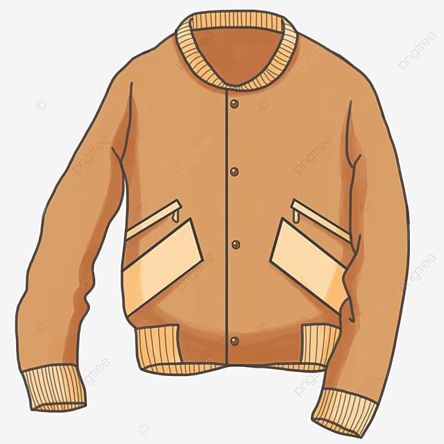 casual fashion jacket coat clipart