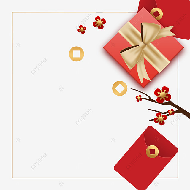 chinese new year spring festival gift border