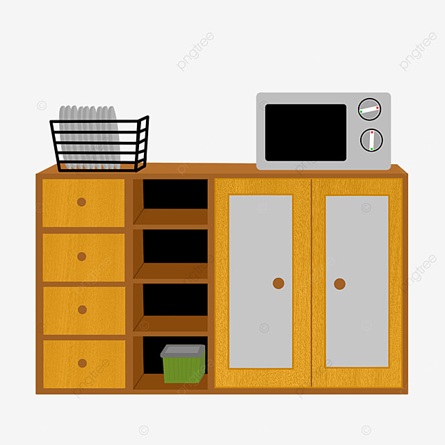 furniture cabinet clip art