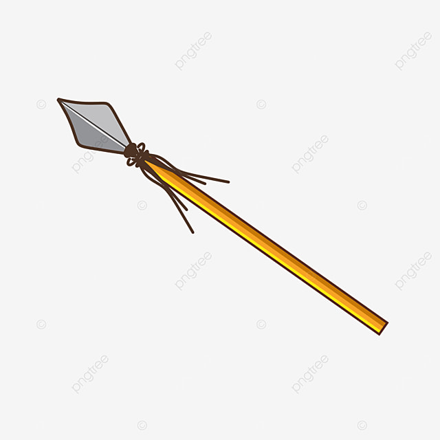game cartoon colorful diamond weapon spear clipart