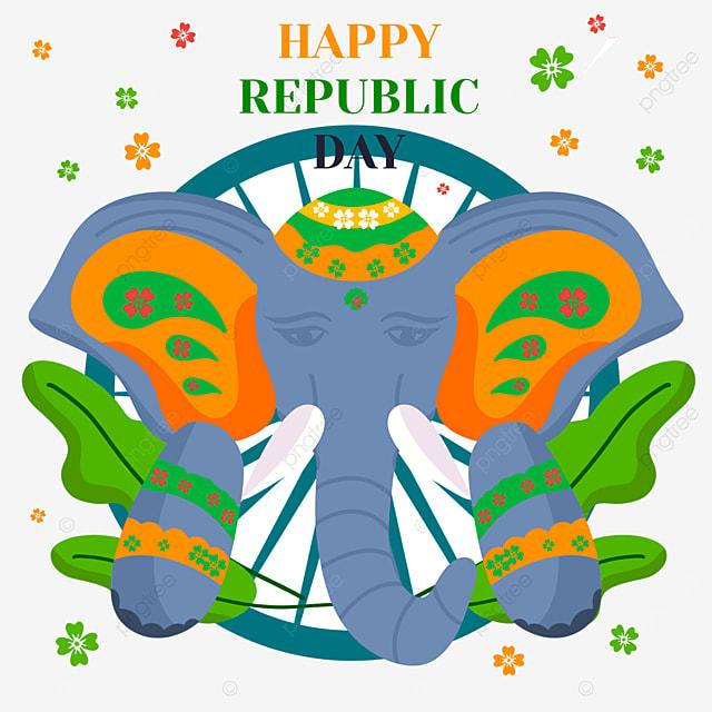 indian republic day animal elephant