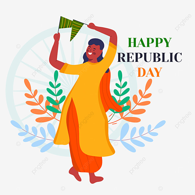 indian republic day character dance