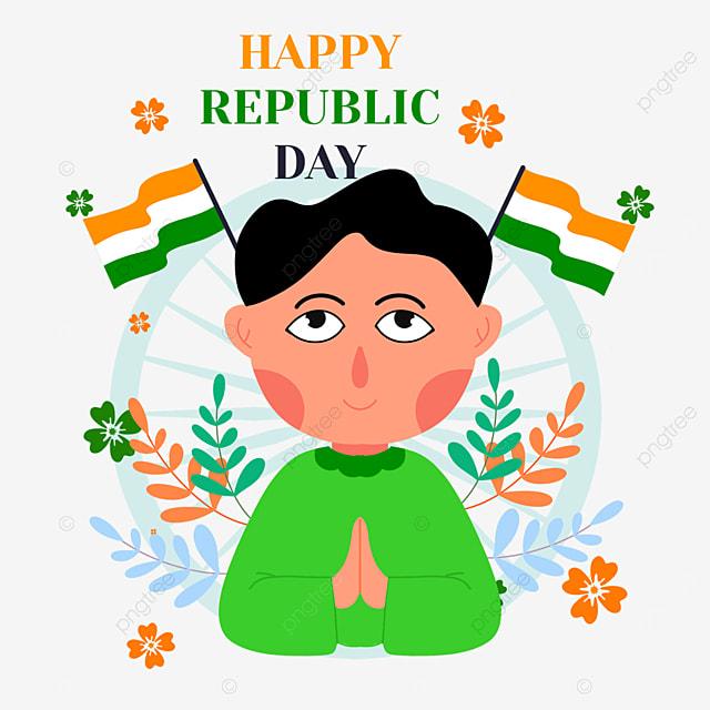 indian republic day children