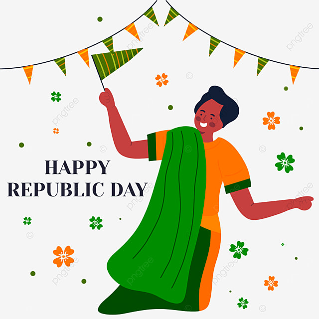 indian republic day people