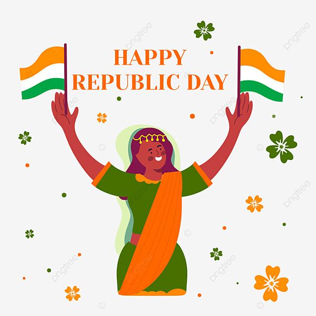 indian republic day womens celebration