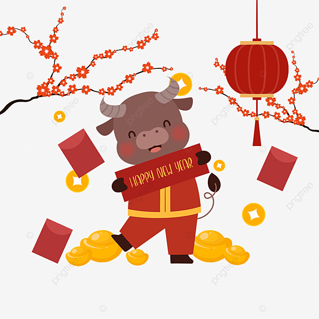 banner year of the ox chinese new year