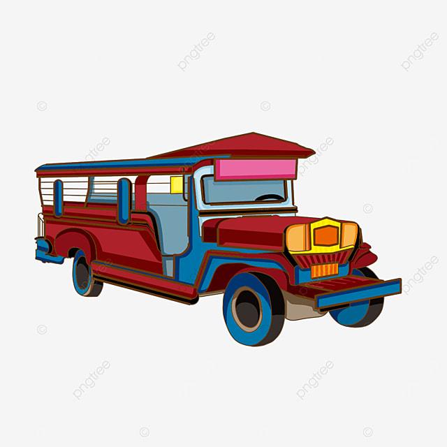 beautiful car jeepney clipart
