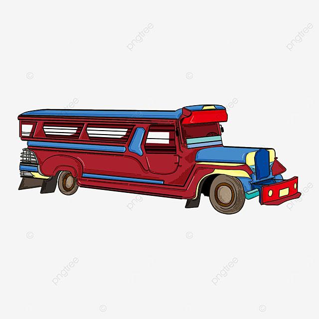 exquisite vehicle jeepney clip art