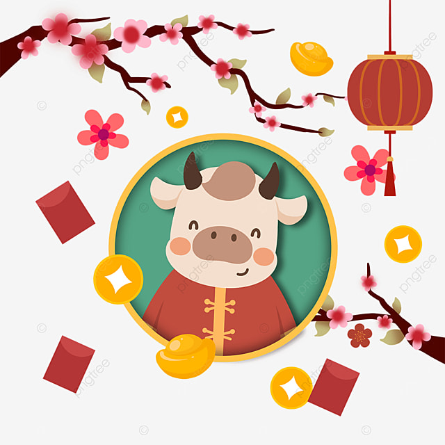 happy chinese new year year of the ox
