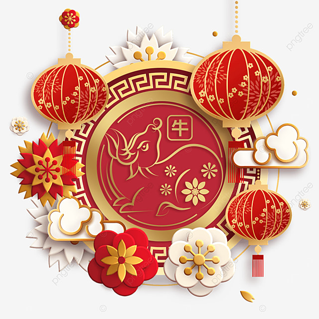 happy new year and spring festival
