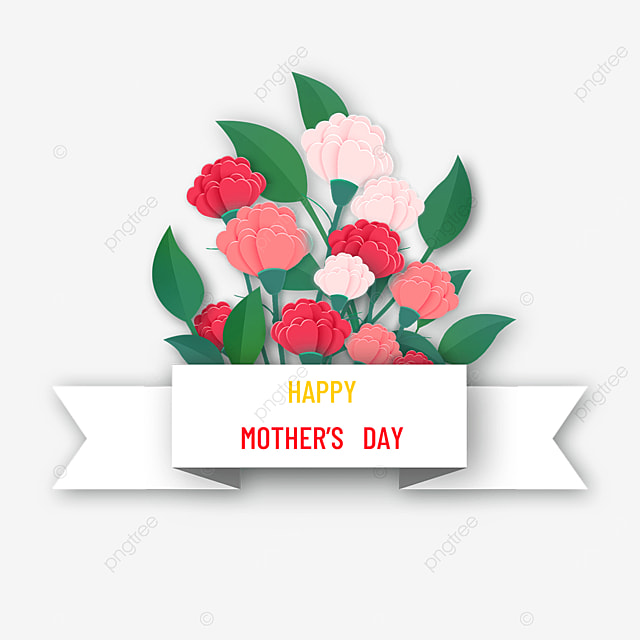 mothers day carnation border