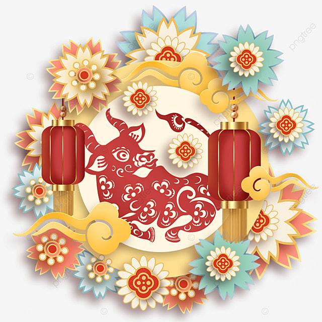 new year spring festival lively festival