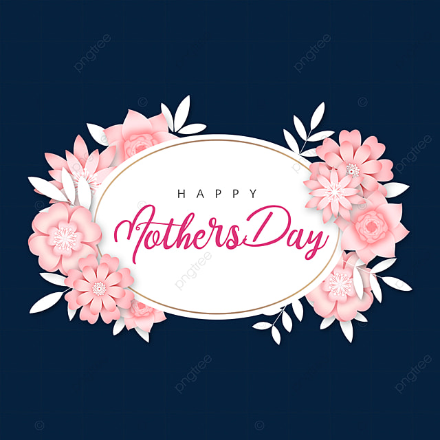 pink mothers day border
