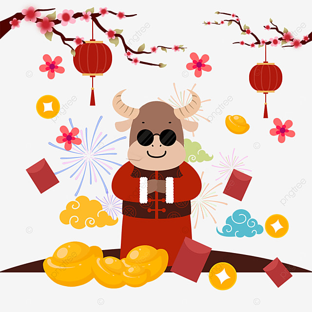 year of the ox chinese new year sunglasses ox