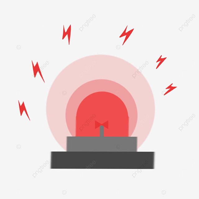 alarm bell in danger clipart