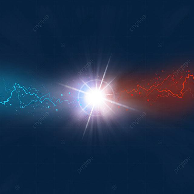 beam collision flash line light effect
