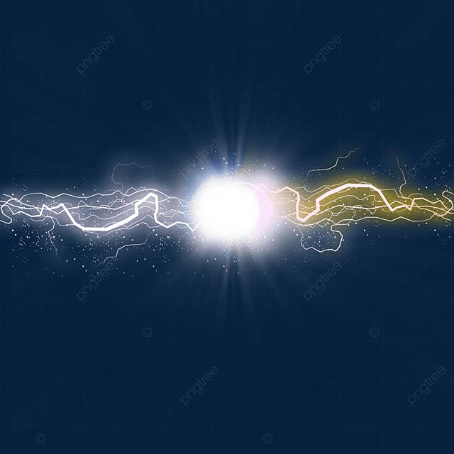 beam collision glow lightning light effect