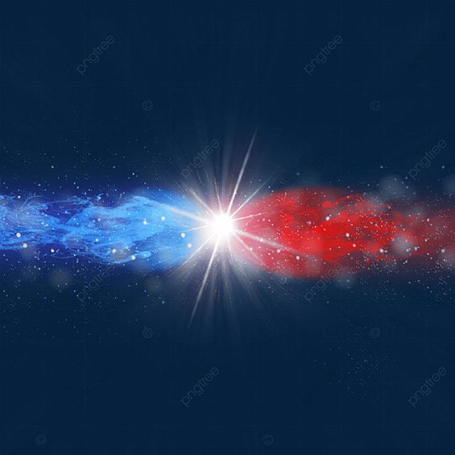 beam collision line light effect