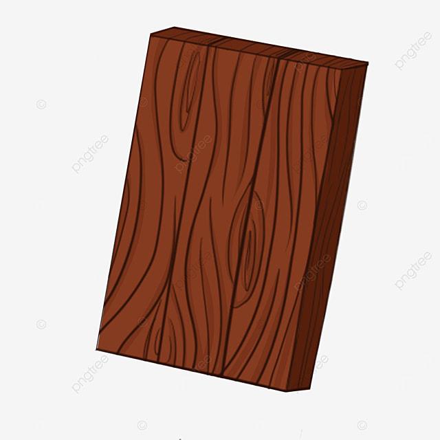 brown wood block wood clip art