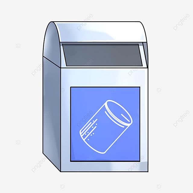 can trash bin clipart