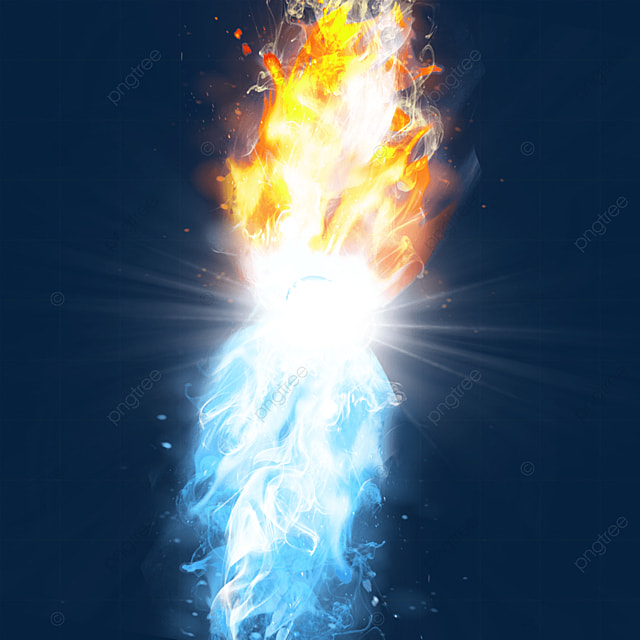creative light effect of beam collision