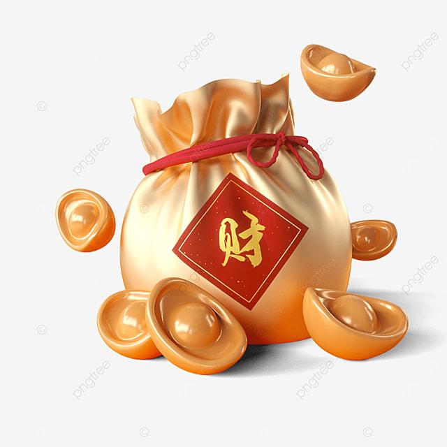 golden spring festival lucky bag